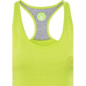 Edelrid Signature - Camisa sin mangas Mujer - amarillo